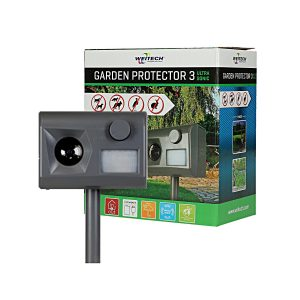 weitech pest garden protector 3 met doos ultrasone marter verjager